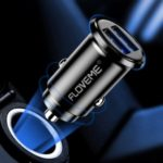 FLOVEME 3.1A Dual USB Car Charger Adapter for iPhone iPad Samsung Huawei