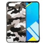 Camouflage Pattern TPU Case for OPPO Realme C2 – White