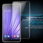 2Pcs/Set IMAK Hydrogel Film 3 HD Clear Anti-explosion Full Screen Protection Film for HTC U19e