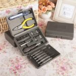 24-in-1 Home Multi-functional Hardware Tool Kit Set Box [Color Random]