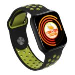 F8 Smart Watch 1.3inch Screen Waterproof Smart Bracelet Heart Rate Blood Pressure for iOS Android Phone – Black/Green