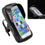 SZ-B17-3 Universal Waterproof Bicycle Motorcycle Holder Bag Bike GPS Handlebar Mount Case