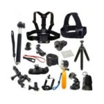 21pcs Action Camera Accessories Cam Tools for Outdoor Photography Cameras Protection Tool