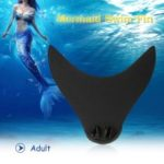Neoprene Mermaid Swim Fin Diving Monofin Swimming Foot Flipper for Adult Children – Adult