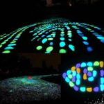 100pcs/Bag Luminous Pebbles Glow in the Dark Stones Home Fish Tank Outdoor Decor Garden Walkway – Style 1