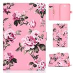Pattern Leather Tablet Case for Samsung Galaxy Tab A 10.1 (2016) – Flower
