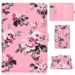 Pattern Leather Tablet Case for Samsung Galaxy Tab A 10.1 (2019) – Flower