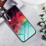 Gradient Color Tempered Glass + PC + TPU Hybrid Case for Huawei P30 – Colorful Nebula