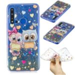 Glitter Sequins Inlaid Pattern Printing TPU Case for Huawei nova 5i / P20 lite (2019) – Two Owls