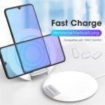 Dual-Coil 10W QI Wireless Charger Wireless Charging Desktop Stand 7.5W/5W (Support FOD Function)