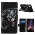 Pattern Printing Flip Leather Wallet Stand Case for ZTE Blade A5 (2019) – Cruel Wolf