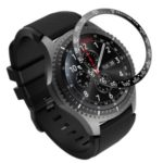 Metal Material Watch Frame for Samsung Gear S3 Frontier – Black/White