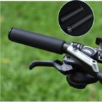 GUB G-601 1 Pair Bicycle Silicone Grip Folding Car Scooter Grips Bike Shock Absorption Silicone Grips – Black