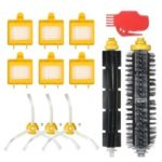 For iRobot Roomba 700 Series 700 760 770 780 790 Bristle Brush + Flexible Brush + Side Brushes + HEPA Filter + Cleaning Vacuum Cleaner