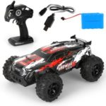 MGRC 2.4G 4CH Remote Control Off-road Climbing Car 1:12 RC Racing Car Vehicle Kids Toy – YL30A/Red