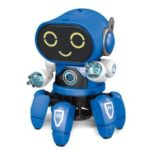 Electric Baby Toy Music Walking Dancing Light Robot – Blue