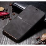 X-LEVEL Extreme Series Leather Cell Covering for iPhone 11 Pro Max 6.5 inch – Coffee