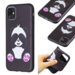 Pattern Printing Embossed TPU Case for iPhone 11 6.1 inch (2019) – Cute Panda