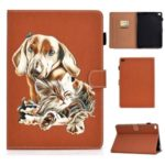 Universal Pattern Printing Leather Tablet Cover for iPad 9.7-inch (2017)/(2018)/iPad Air (2013)/Air 2 – Dog