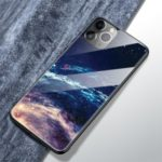 Pattern Printing Tempered Glass + TPU Phone Case for Apple iPhone 11 Pro Max 6.5 inch – JM-1115