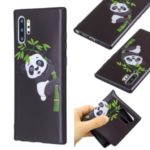 Pattern Printing Embossed TPU Cover for Samsung Galaxy Note 10 Plus 5G / Note 10 Plus – Panda Pattern