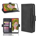 Multiple Card Slots PU Leather Cell Casing Cover for Huawei P Smart Z / Y9 Prime 2019 – Black