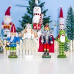 Creative Wooden Crafts Furnishings Christmas Ornaments Home Decorations 4PCS/Lot