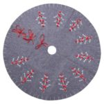 120cm Christmas Tree Skirt Home Aprons Round Carpet Party Ornaments