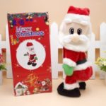 Electric Santa Claus Twerk Music Dancing Doll Xmas Toy