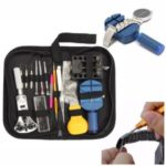 144Pcs Kit Watch Repair Tool Back Case Set Opener Remover Bar Repair Pry Screwdriver