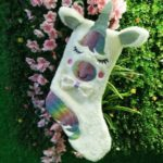 Christmas Stockings Ornaments Candy Gift Bag Large Unicorn Surface without Lights