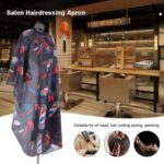 Salon Apron Waterproof  Hairdressing Gown Cape – Black