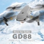 Foldable Wifi FPV Wide-angle 1080P Altitude  RC Training Quadcopter