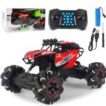1/16 RC Car 2.4GHz 4WD Off-road Music Remote Control Drift Climbing Car Stunt Toys – Red