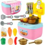 Kitchenware Tools Toy Set Kitchen Cooking Pretend Play Toy Kids Educational Toys