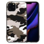 Camouflage Style TPU Soft Phone Cover for iPhone 11 Pro Max 6.5 inch – White