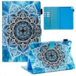 Pattern Printing Leather Wallet Stand Tablet Cover for Samsung Galaxy Tab A 10.1 (2019) SM-T510/T515 – Malanda Flower