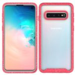 Starry Sky Shockproof Phone Cover Case for Samsung Galaxy S10 – Red