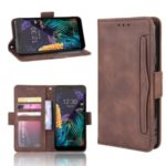 Wallet Leather Phone Stand Case for LG K30 (2019)/X2 (2019) – Coffee
