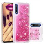 Quicksand Dynamic Glittery Sequins TPU Casing for Huawei Honor 9X/9X Pro – Pink