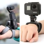 PGYTECH Action Camera Hand and Wrist Strap 360 Degree Rotation Adjustable for DJI OSMO Pocket GoPro Action Camera
