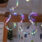 200-LED Star Tree Rattan Lamp Christmas Decor Garden Branch Light String – Colorful/US Plug