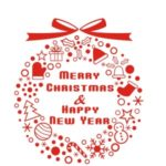 42x46cm Merry Christmas & Happy New Year Wall Decor Sticker Mural DIY Wallpaper Art Decal