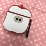Shockproof Fruit-shaped Earphone Protective Silicone Case Cover for Apple AirPods with Wireless Charging Case (2019) / AirPods with Charging Case (2019) (2016) – Apple Shaped