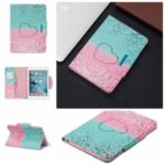 Pattern Printing Wide Clasp Stand Wallet Flip Leather Tablet Cover Shell for iPad Mini 1/2/3/4/(2019) 7.9 inch – Heart