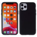 Detachable Side Buttons Cover Liquid Silicone Phone Case for iPhone 11 Pro Max 6.5 inch – Black