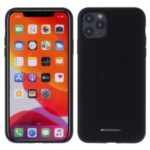 MERCURY GOOSPERY Silicone Phone Protective Case for iPhone 11 Pro 5.8-inch – Black