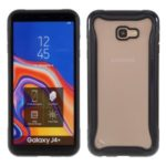 3 in 1 PC + TPU Hybrid Case for Samsung Galaxy J4+ – Black