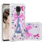 Liquid Glitter Powder Patterned Quicksand Shockproof Phone Case for Huawei Mate 30 Lite/nova 5i Pro – Tower