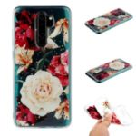Glitter Sequins Inlaid Pattern Printing TPU Shell for Xiaomi Redmi Note 8 Pro – Pretty Flowers